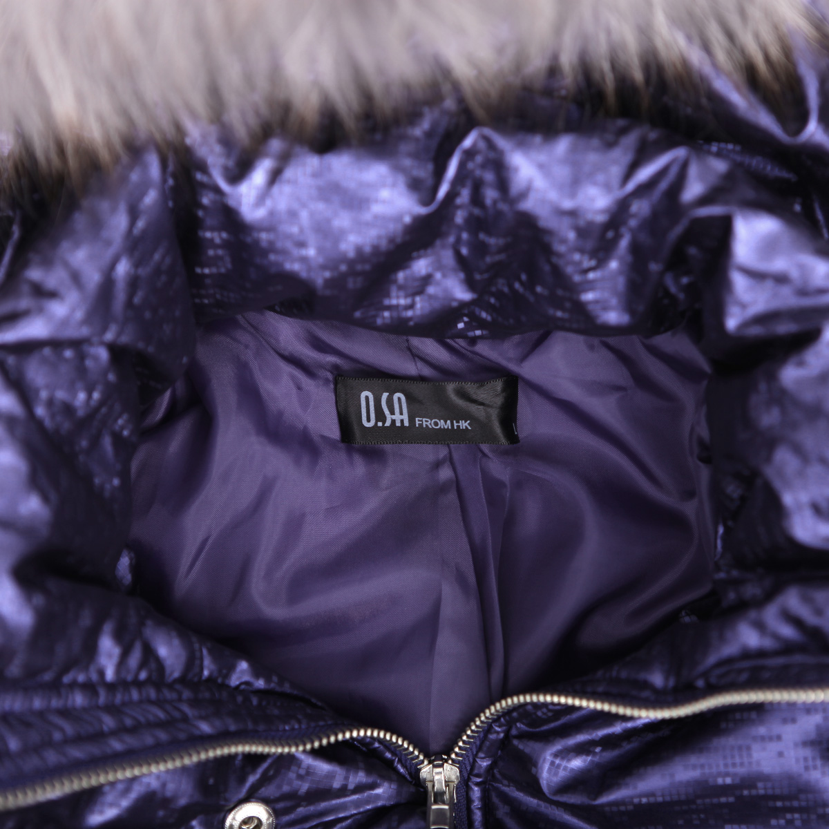 Женская утепленная куртка OSA sm00606 OSA2011 M00606 Облегающий покрой Длинный рукав