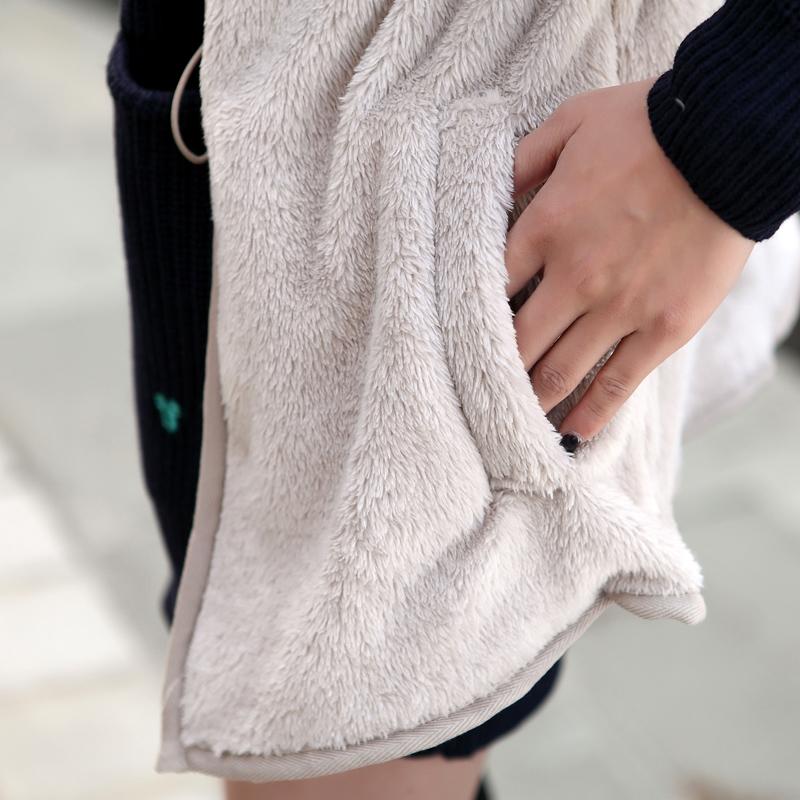 Женская утепленная куртка Showing M014 Прямой Длинный рукав Зима 2012