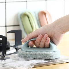 凤全强力去污浴缸刷神奇海绵瓷砖刷子厨房用品洗锅清洁刷海绵擦
