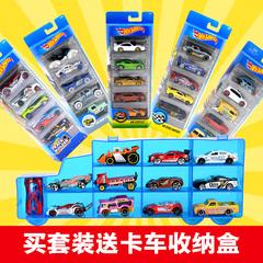 风火轮火辣小跑车轨道车兰博基尼合金小车车模玩具汽车儿童5车