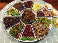团年饭餐具碗碟套装家用中国风乔迁中式拼盘组合过年厨房碗盘家庭