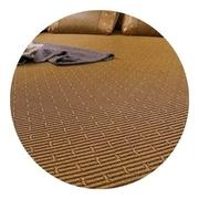 加厚藤席凉席可夏季床笠绑带款三件套比竹席更舒适折叠1.5米1.8米