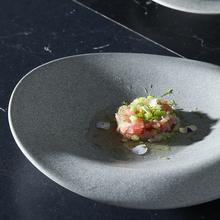 朵颐stone 家用水果盘子北欧餐具陶瓷菜盘创意浅盘碟子不规则餐盘