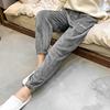 仙女暖暖裤女套装珊瑚绒神裤外穿阔腿宽松懒人睡裤加厚家居奶奶裤