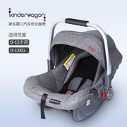 美国Kinderwagon婴儿提篮车载 便携式汽车安全座椅新生儿出院提篮