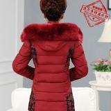 查看精选中老年女装冬装棉衣中年妈妈装羽绒棉服外套加厚中长款毛领棉袄女最新价格