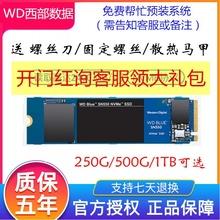 WD 西部数据 西部数据绿盘m.2西数蓝盘SN550 M.2 NVMe 500G 1TB P