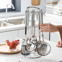 北欧轻奢风祖母绿陶瓷防烫手柄锅铲烧菜勺子厨房用具烹饪勺铲套装