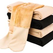 秋冬季加绒加厚款肉色打底裤女薄款外穿光腿冬天神器肤色秋裤丝袜