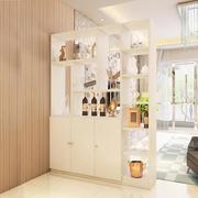 展示台书柜间厅柜陈列柜简易柜鞋柜玄关柜简易入户客厅一体