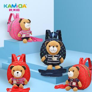 卡通儿童小书包幼儿园男女童1-3岁宝宝婴儿双肩可爱小背包