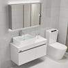 北欧不锈钢浴室柜组合现代简约卫生间洗漱台盆厕所洗手脸面盆卫浴