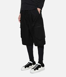 小胖 Y3 男子短裤 Y-3 TECH SHORTS Y-3 TECH SHORT DY7140