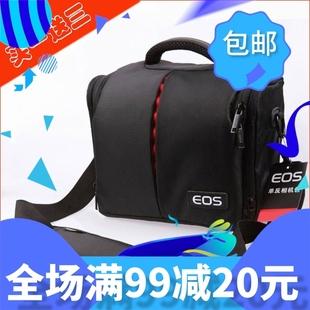 佳能单反相机包包6D 70D 100D 600D 700D单肩摄影7D2 80D 250D X9