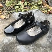 同款斯乃纳童鞋春秋款SP1932820女童黑皮鞋舞蹈表演1932910