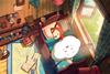 印花法国DMC十字绣卧室儿童房卡通动漫 阿狸的美梦