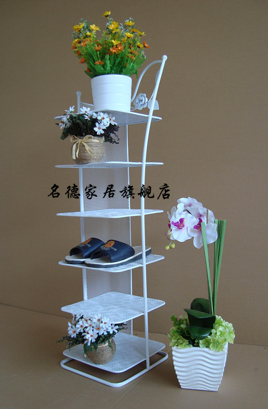 Shoe rack/iron shoe rack/shoe rack door shoe rack versatile shoe ...