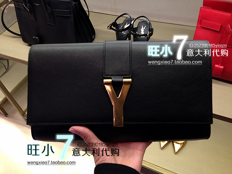 Wang ] genuine counter purchasing small 7 YSL Yves Saint Laurent y ...
