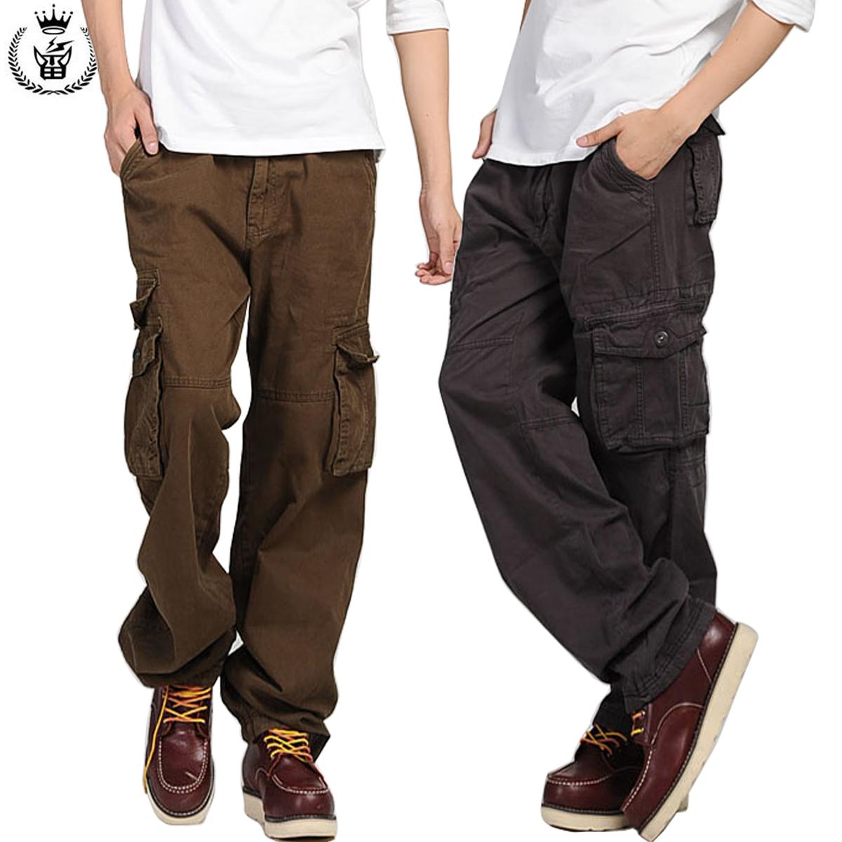 七分裤男口袋