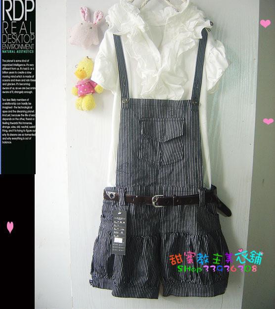 Женские брюки Шорты, мини-шорты Брюки на подтяжках
