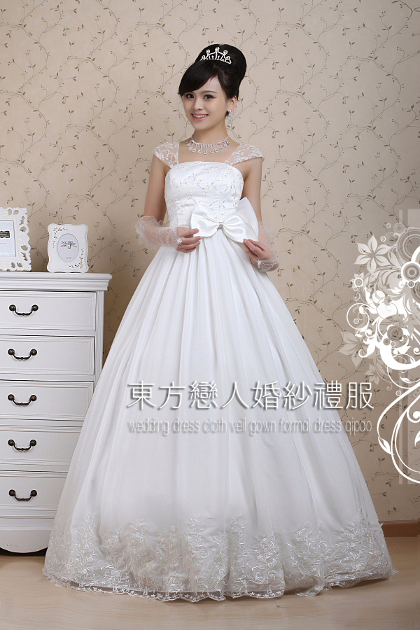 Свадебное платье Code constant bride HS/09/07 2012 HS-9-7 2012 Натуральный шелк, шифон Принцесса с кринолином Корейский