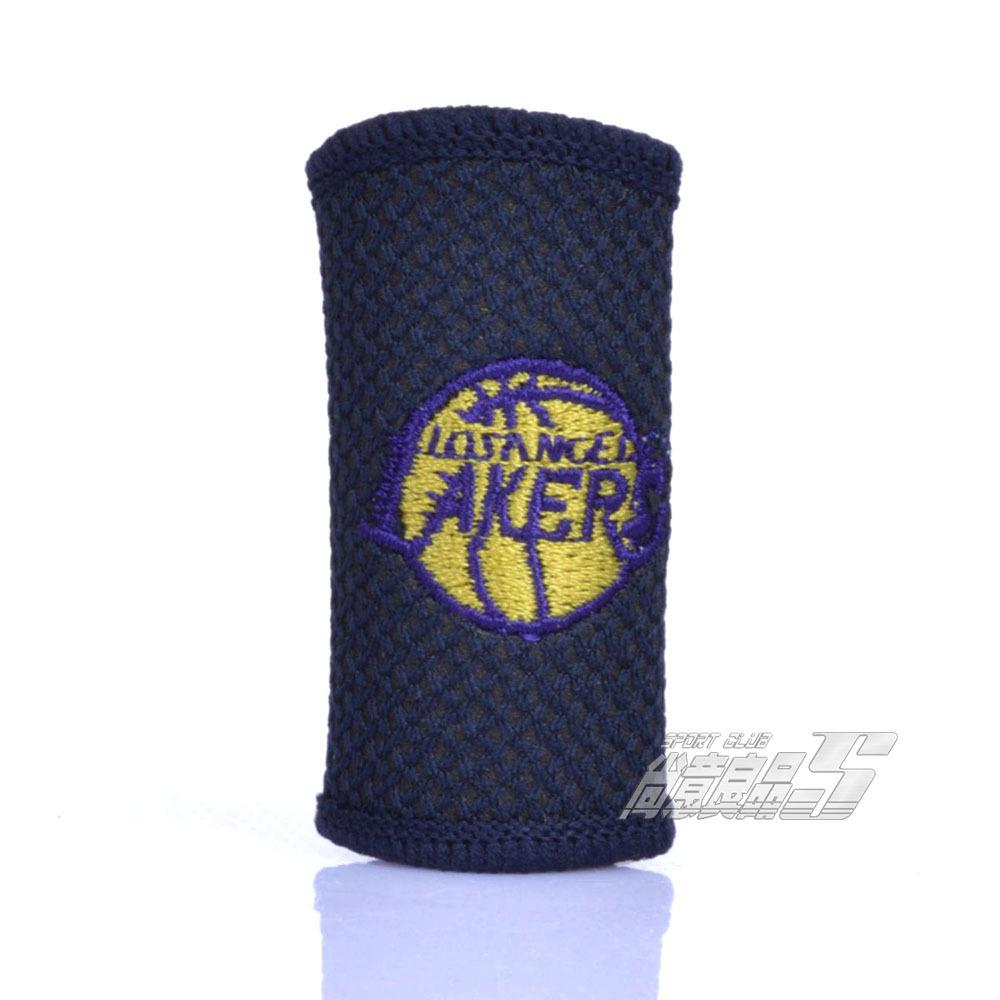 Наколенники, Напульсники НБА сувениры вышивка палец Наклз спорта безопасности Лос-Анджелес Лейкерс куртка баскетбол палец ларек