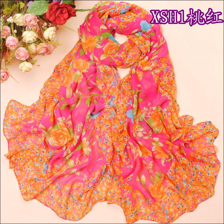 шарф 2012 summer Sun шарф Жоржетта шарф девушка корейской версии 2012 увеличить солнцезащитный крем пляж полотенце бутик Женское Шифон, жоржет Шарф