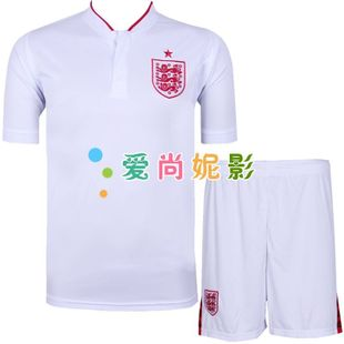 12-13 England suit men's soccer national team football clothing clothes children football training clothing clothes