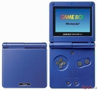 The new Nintendo console GBA SP GAME BOY 2G memory game consoles to support the film