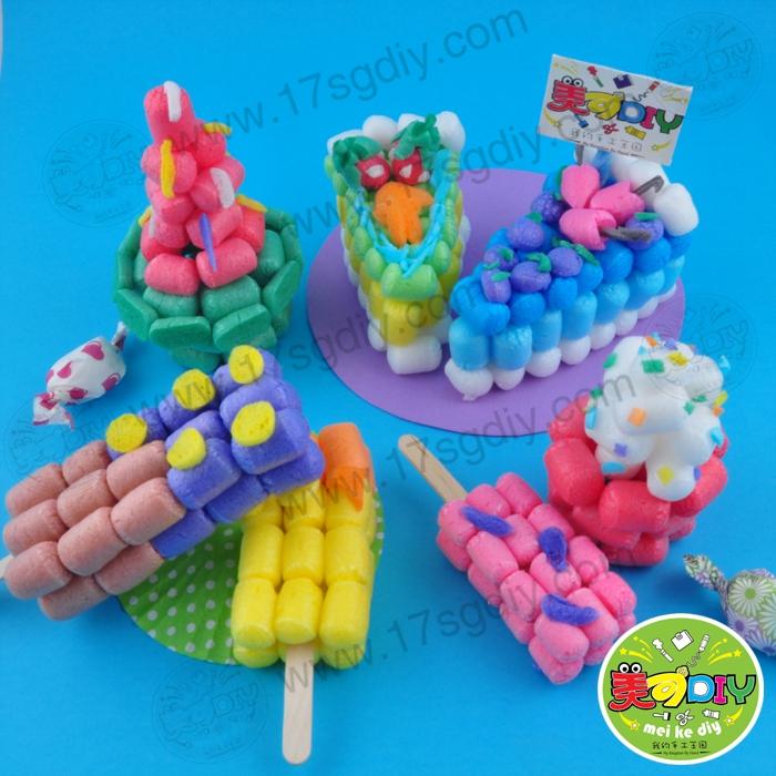 甜品之旅 魔法玉米约150简装 幼儿园手工材料批发 儿童礼物制作图片