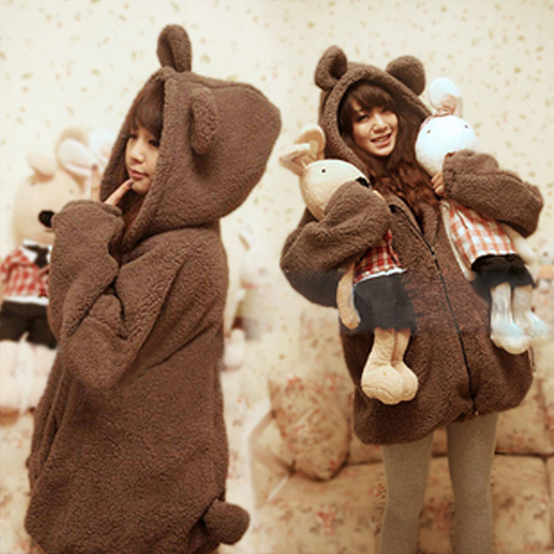 2012 Korean thicken cute bear  sweater