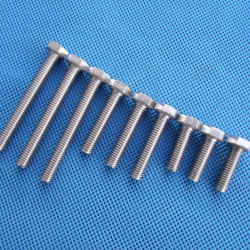 6mm diameter 304 stainless steel, 6 corner bolts 6 socket head screws M 6 * 10 - 6 * 120