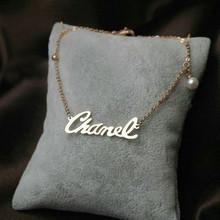 Tiro de lujo del mundo real hermosa decoración poco de incienso colgado pulsera de perlas tobillera Inglés LOGOTIPO