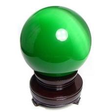Ювелирный камень 天然水晶球之冰洲石摆件 夜明珠小巧时尚 防辐射礼品