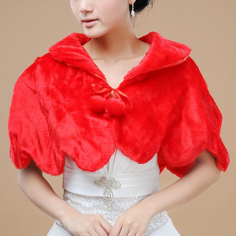 爱唯依 毛披肩 高档可爱新娘婚纱披肩  带领口 中袖 正品新款特价