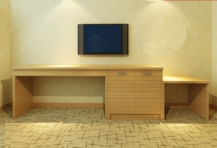 Custom Inn Hotel Room With Standard Sets Of Luggage
