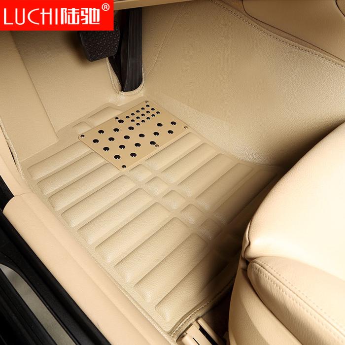 现代索纳塔8朗动瑞纳名图IX35途胜悦动伊兰特专用全包围汽车脚垫