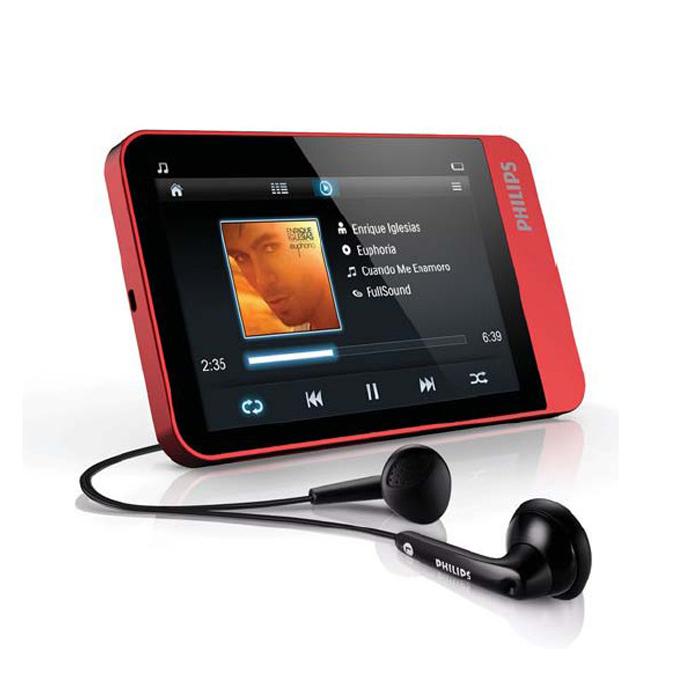 飞利浦 SA060 4G MP4 3.2寸触摸屏 Philips飞声环绕音效 抢包邮