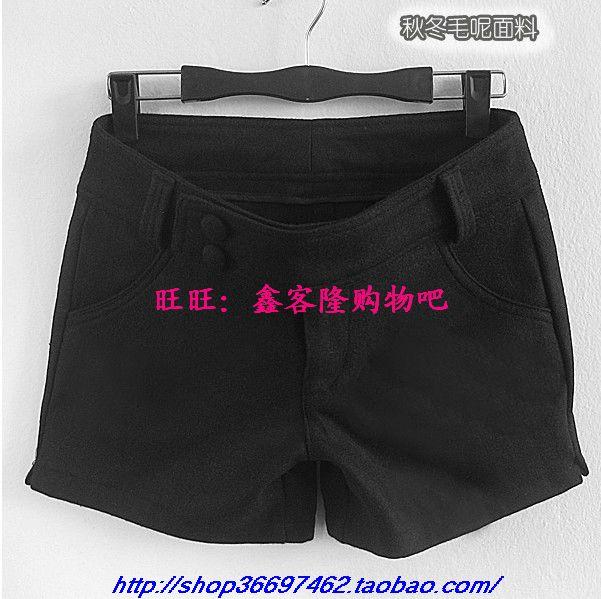 Женские брюки 2012 Шорты, мини-шорты Прямые Осень, Зима