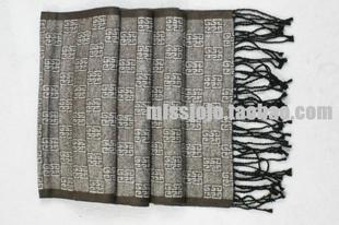 2012 men's accessories ugly ugly trade wind brushed silk silk scarf for men of business in Europe and  spring and Autumn period