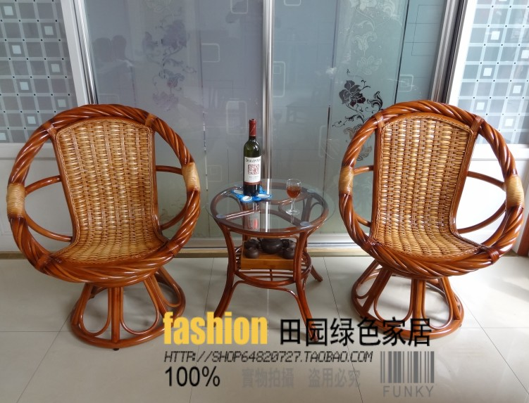 Диван из ротанга Pastoral rattan swivel chair 360 Ротанг