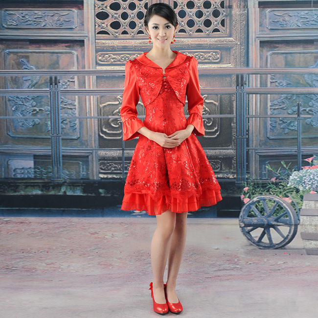 Платье Ципао Honey marriage Cheongsam 88 2012 88