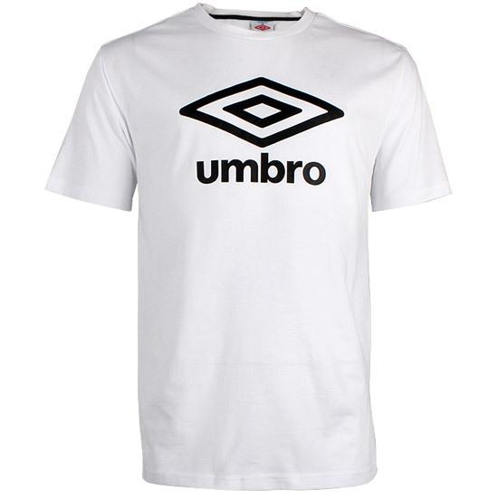 Спортивная футболка UMBRO 111203014 Воротник-стойка Воздухопроницаемые С логотипом бренда