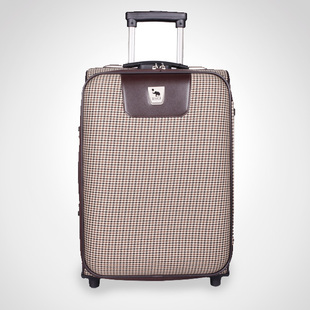. Scottish leisure Damier trolley 20 inch trolley case AI Hua Shi genuine 2883-20