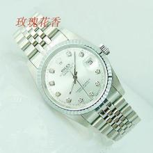 Genuine Diamond Rolex silver scale models of mechanical watches men Watches tooth edge