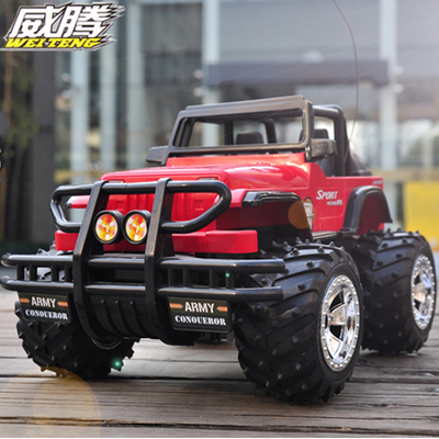 Hummer remote control car charging large drift electric buggy child boy toy car shatterproof jeep car models