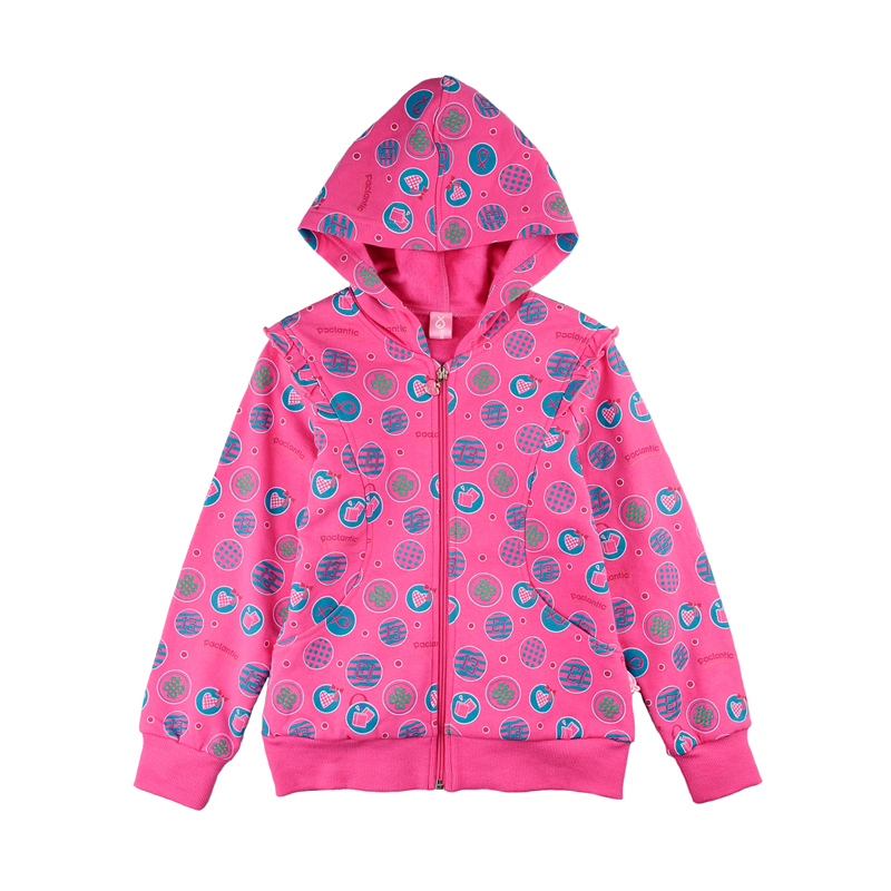детская куртка Lawlandee pjwe075201 *Paclantic* 2012 Девушки Хлопок (95 и выше) Застёжка-молния % О-вырез