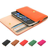 The Korea bank card money protective sleeve Apple 4 holster iPhone54s cellphone shell
