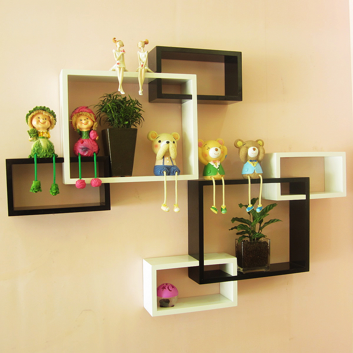 Декоративные полки на стену фото