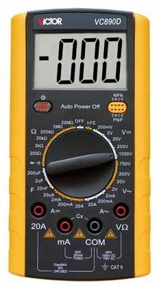 Crown instrument Valley/victory to victory VC890D digital multimeter